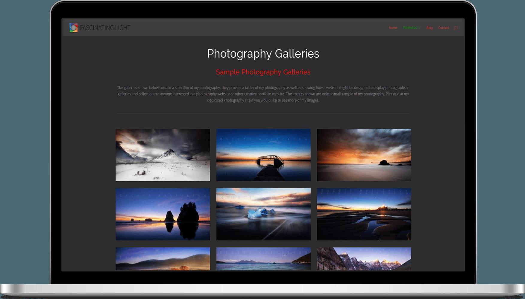 Website | Personal | Fascinating Light