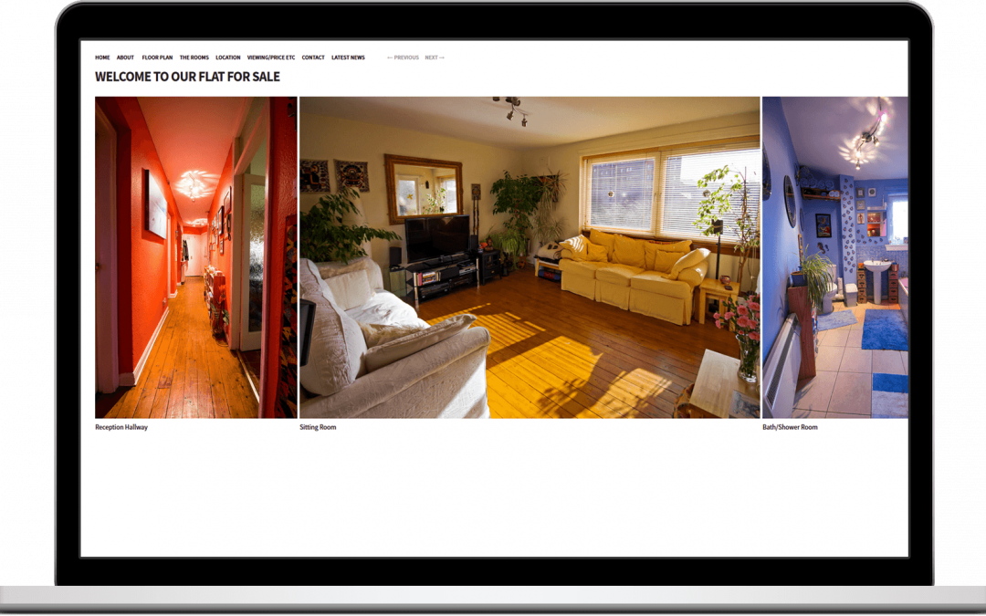 Web Design – Property Sale – Edinburgh Flat
