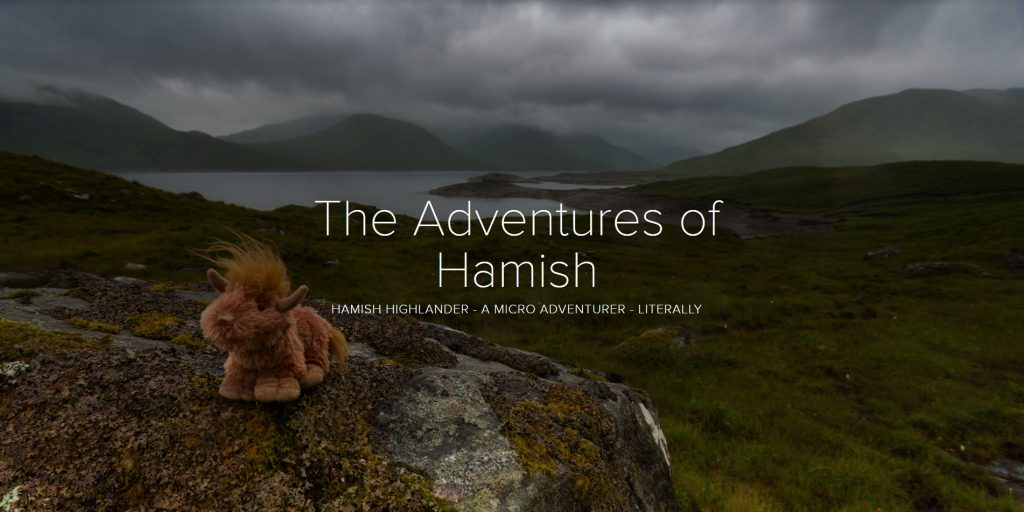 Adobe Spark Photo Story – The Adventures of Hamish