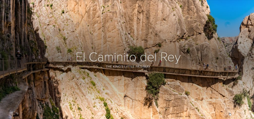Adobe Spark Photo Story – El Caminito Del Rey