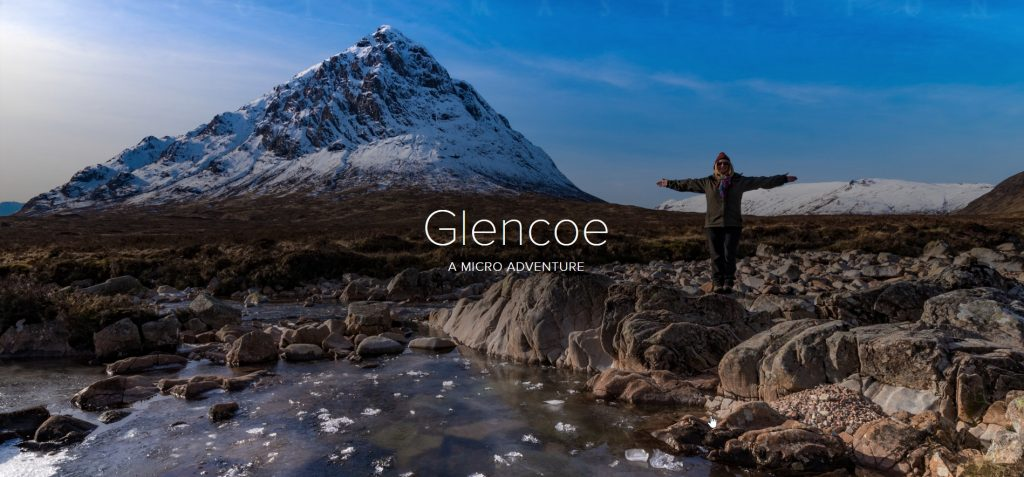 Adobe Spark PhotoStory – Glencoe Micro Adventure