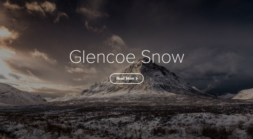 Adobe Spark Photo Story – Glencoe Snow