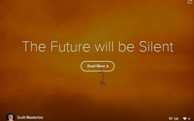 Adobe Spark Photo Story – The Future will be Silent