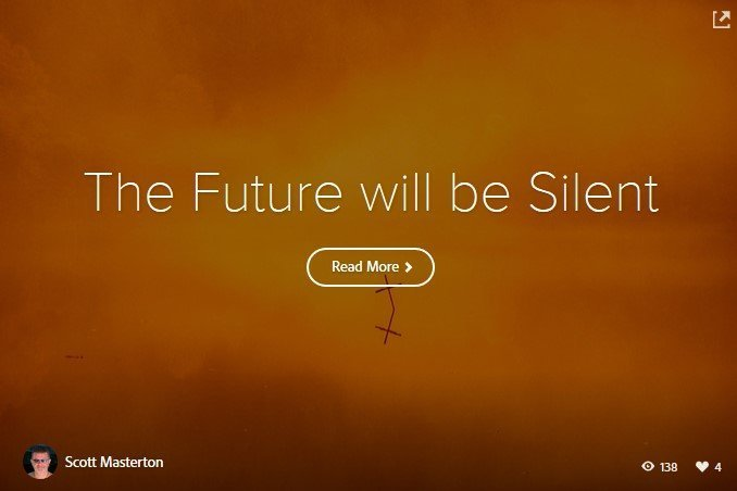 The Future will be Silent