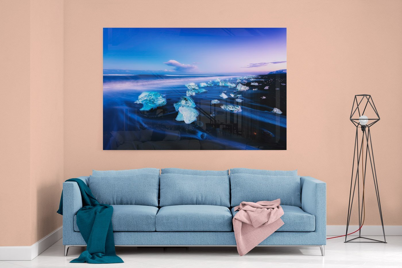 Home Decor mockup. Acrylic feature Wall Art Image by Scott Masterton