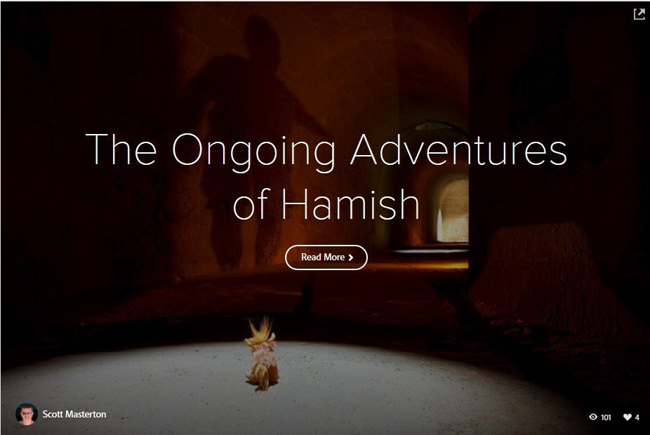 The Ongoing Adventures Of Hamish – Part II
