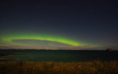Aurora, North Berwick, East Lothian, Scotland (Video 1 Of 2)