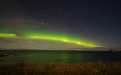 Aurora, North Berwick, East Lothian, Scotland (Video 2 Of 2)