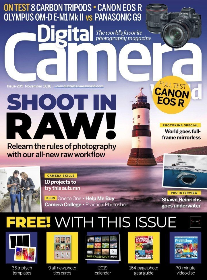 Digital Camera World Magazine Cover Shot by Scott Masterton