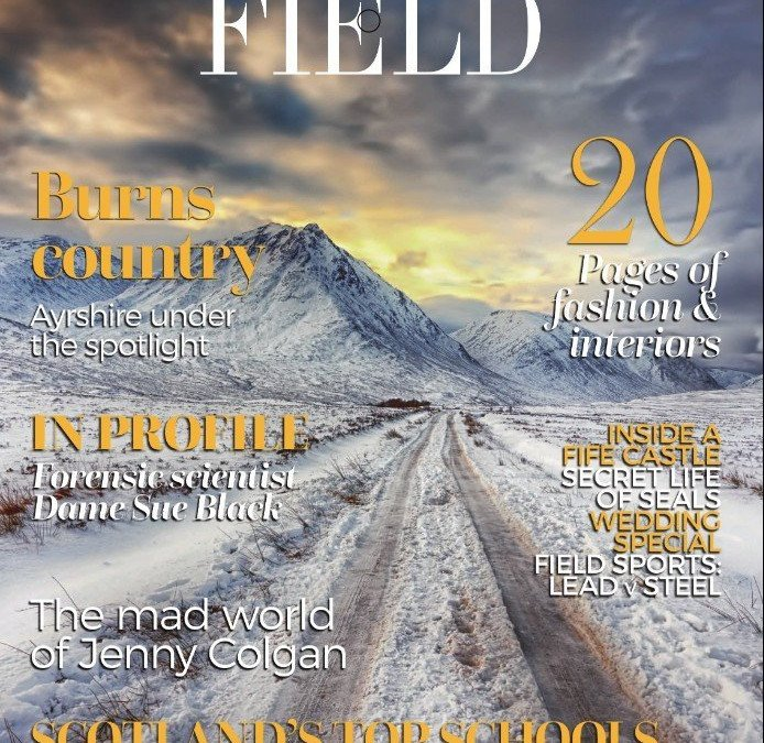 Cover Shot – Magazine – 'Scottish Field'