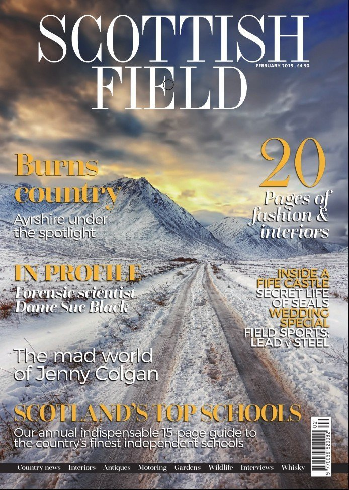 Scottish Field Cover Shot Feb 2019