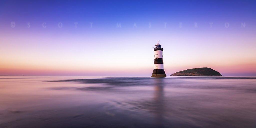 Trwyn Du Lighthouse, North Wales