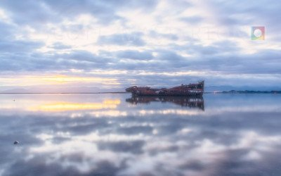 Janie Seddon Ship Wreck, New Zealand.