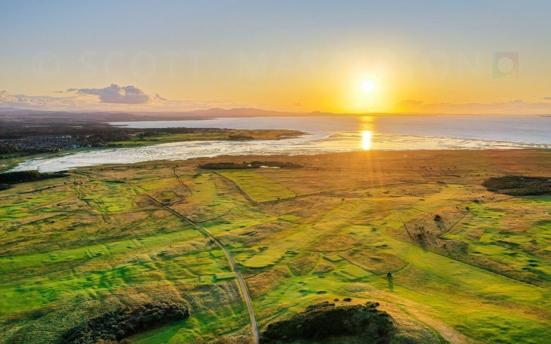 Golf Coast, East Lothian, Scotland.