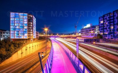 Auckland Light Trails