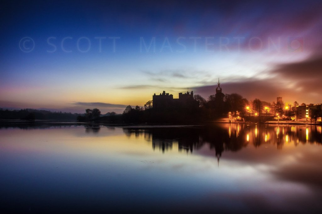 Scott Masterton - Linlithgow Palace at Dawn