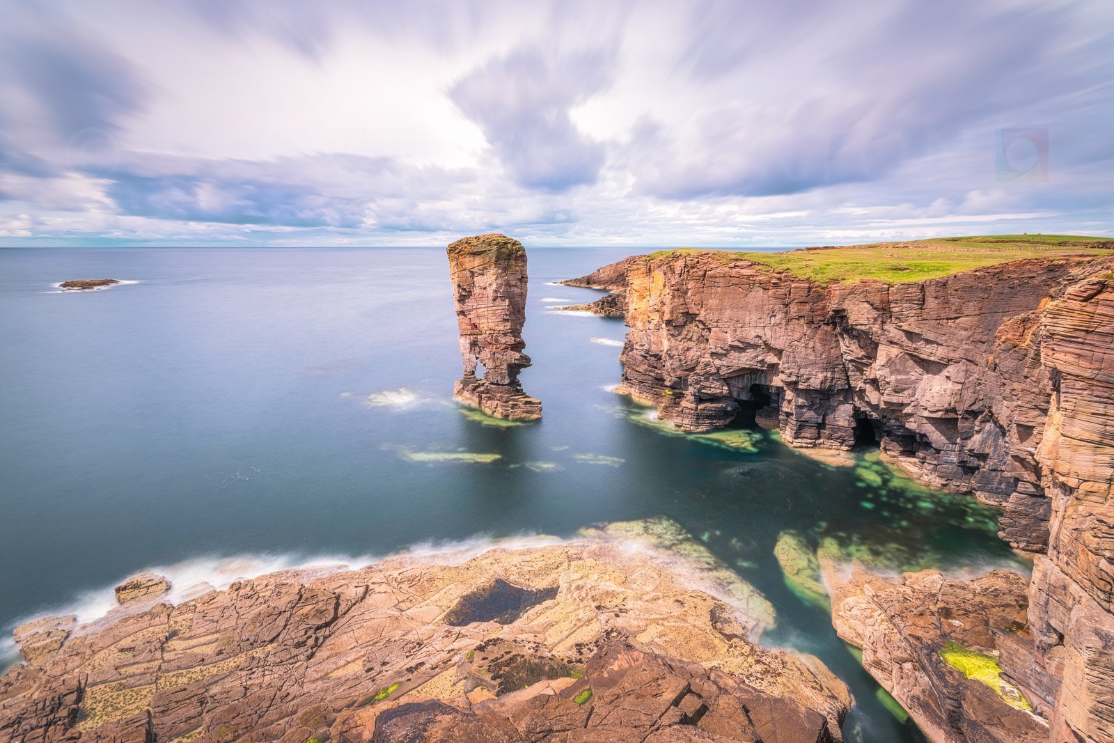 Adventures in the Orkney Islands, Scotland.