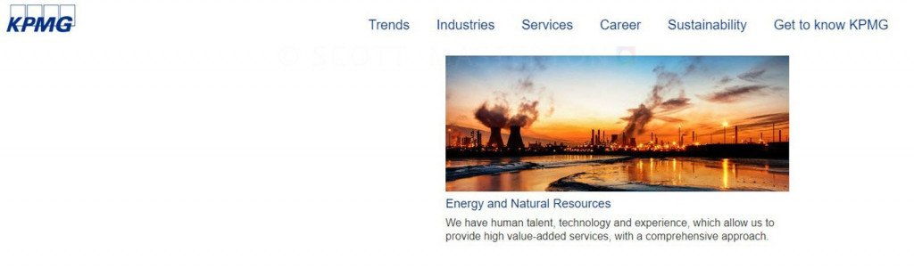 Image use on KPMG Website