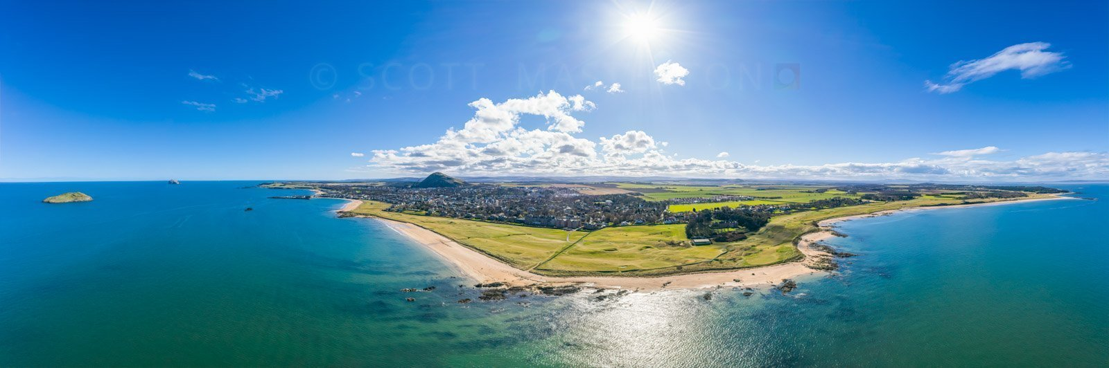 North Berwick Aerial View