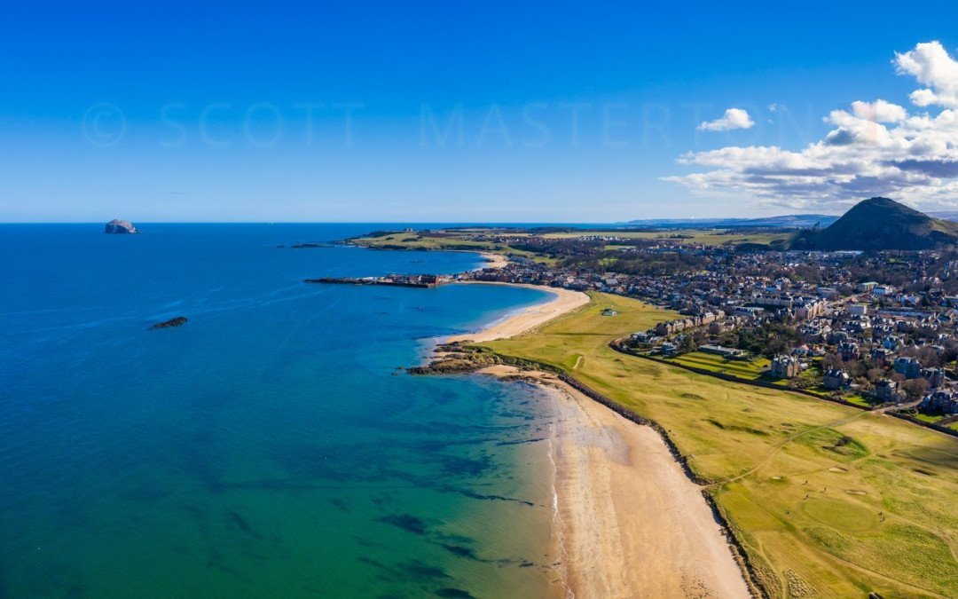 North Berwick from Above