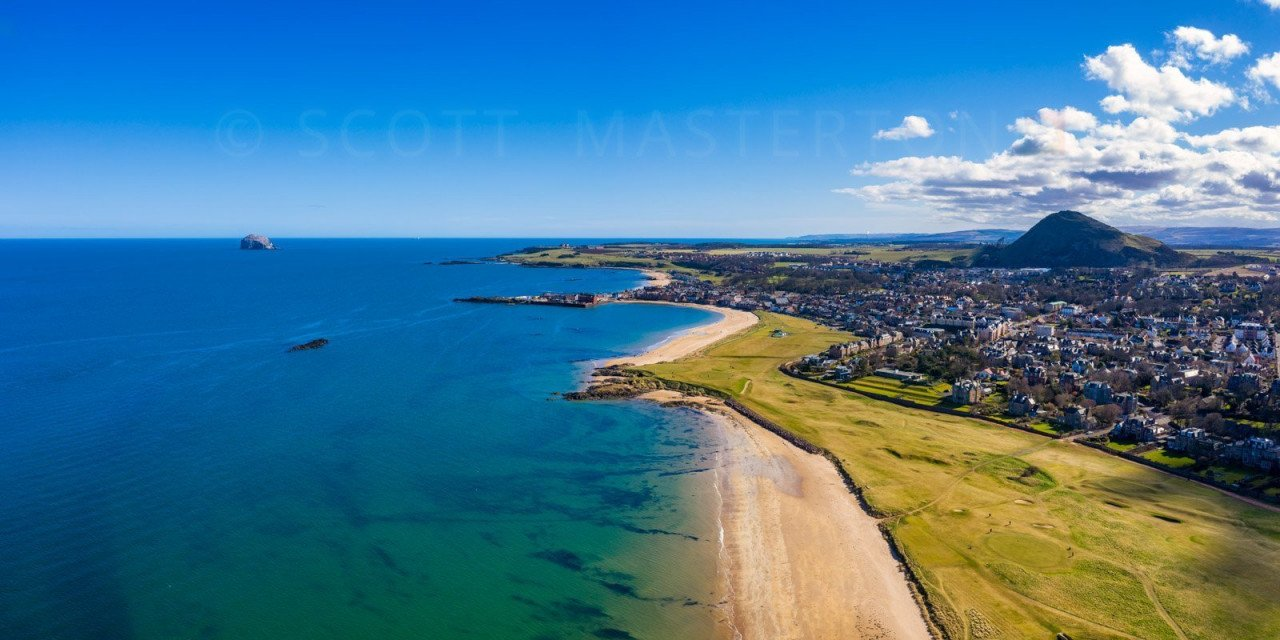 North Berwick Aerial View I