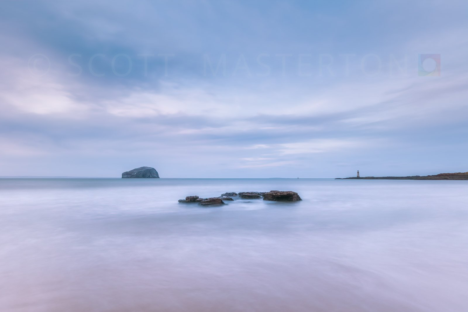 Scotland, East Lothian, North Berwick, Tantallon, Seacliff Beach.