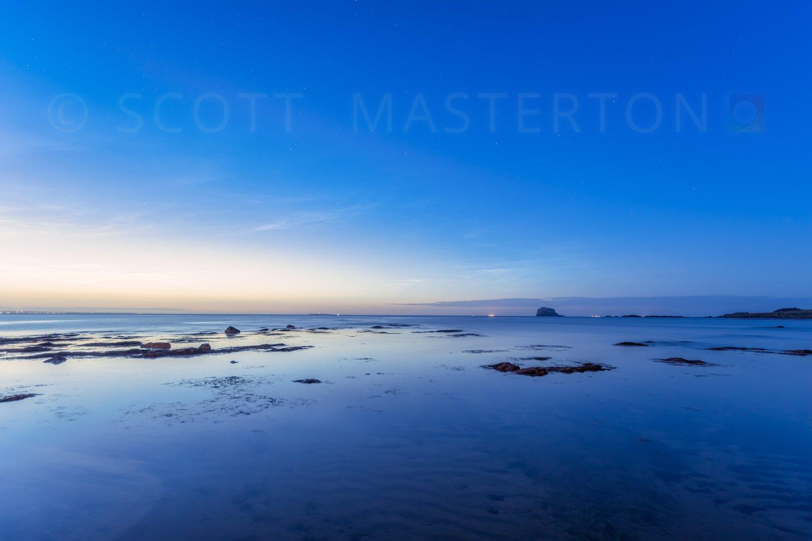 Noctilucent Clouds North Berwick Scotland