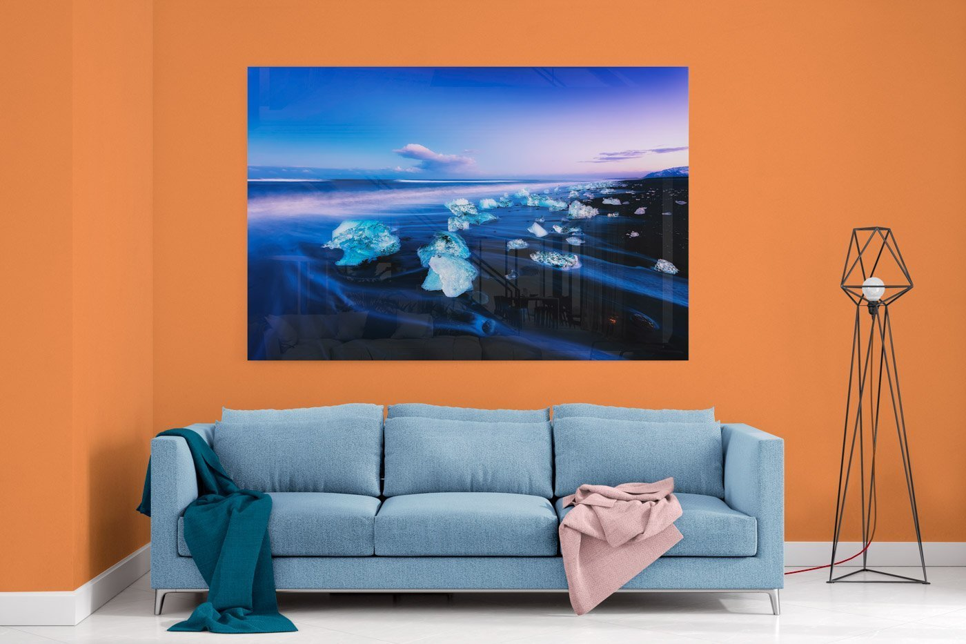 Home Decor mockup. Modern Acrylic Wall Art Image by Scott Masterton